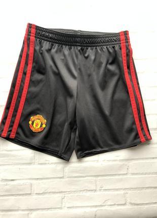 Спортивные шорты adidas - manchester united - возраст 5 - 6
