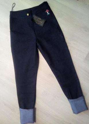 Брендовые брюки джинсы