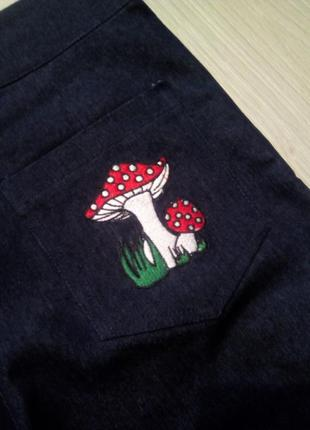 Брендовые брюки джинсы4 фото