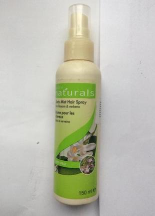Спрей-лак для волос лайм и вербена naturals от avon