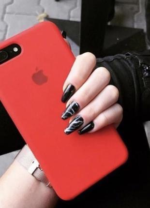 Продам красный новый чехол на айфон 7plus/8plus