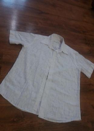 Шведка, рубашка с коротким рукавом
