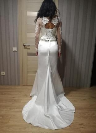 Новое платье итальянского бренда ариамо брайдал3 фото