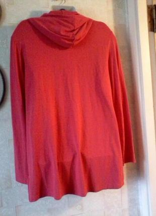 Туника с капюшоном, худи, платье с капюшоном, разм. 50-52
