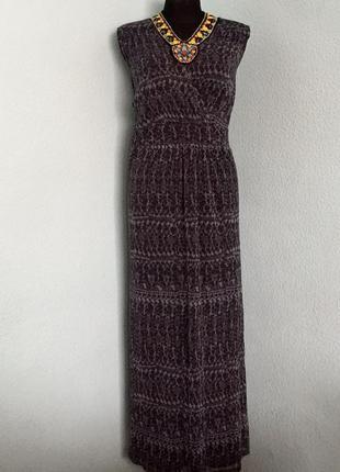 Платье сарафан в пол длинный george размер 22-24 наш 56-58