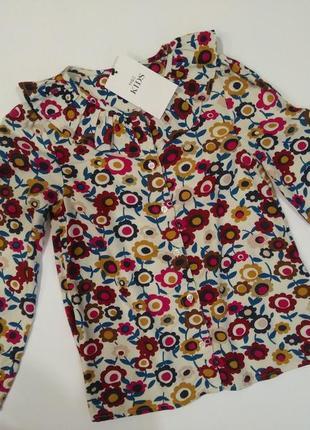 Блузка marks& spencer на 5-6 лет