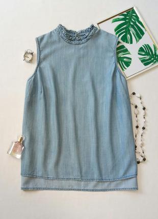 Джинсовая блуза на шикарную девушку1 фото