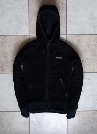 Bergans теплая кофта курточка