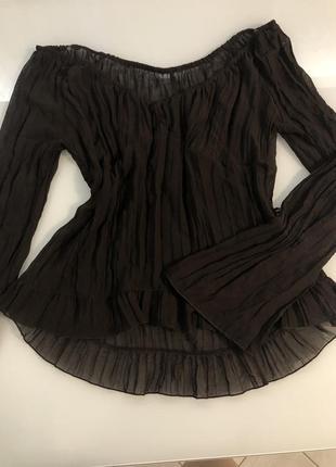 Стильная блуза жатка