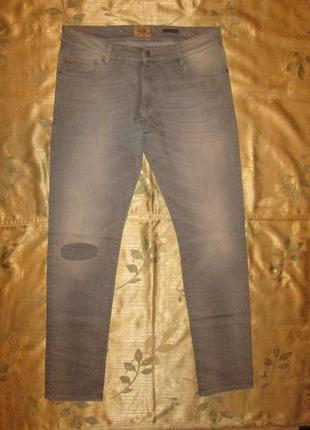 Мужские джинсы бренд nagano slim - skinny