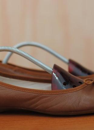 best sneakers 051d4 047ac Кожаные коричневые женские балетки clarks, 40 размер ...