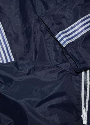 Ветровка дождевик курточка синяя2 фото