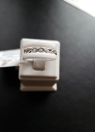 Красивое кольцо серебро ювелирная керамика