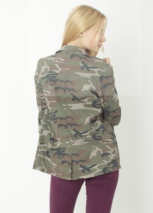 Куртка пиджак в стиле милитари