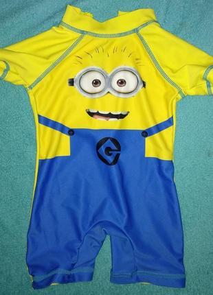 Миньон детский гидрокостюм солнцезащитный костюм купальный бассейн плаванье
