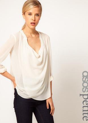 Sale! крутая рубашка блузка asos нежно-розового цвета