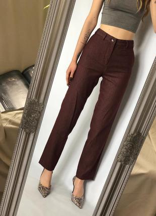 Стильные качественные брюки в полоски от zara trafaluc