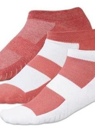 Женские короткие спортивные носки crivit германия, комплект 3 пары