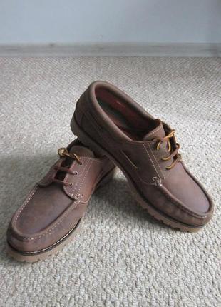Трекинговые мужские кожаные туфли human nature 46 р