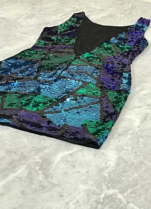 Коктейльное платье расшитое пайетками  dr1919051 asos2 фото