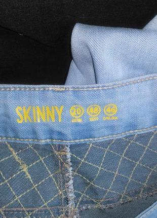 Хорошие фирменные джинсы скинни стрейч5 фото