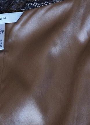 Шёлковая юбка от  zara  с мягкого кружева10 фото