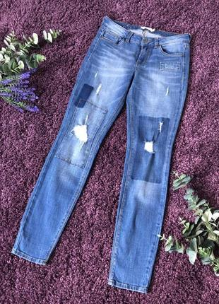Супер стильные фирменные джинсы tom tailor denim jona на размер м