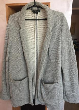 Пиджак-кардиган topshop