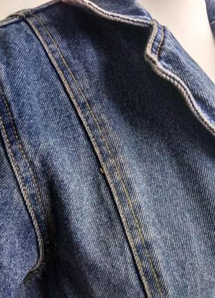 Джинсовый плащ котон 100% джинсовка котоновый тренч isolina's jeans  бойфренд джинсовка3 фото