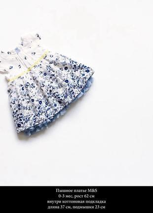 Красивое платьице на коттоновой подккладке