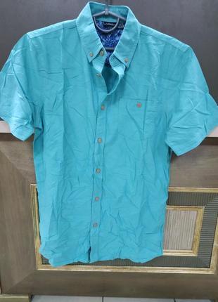 b6bf517259e Бирюзовые мужские рубашки 2019 - купить недорого мужские вещи в ...
