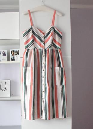 Новое платье в полоску от primark