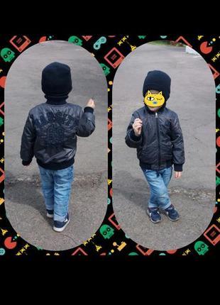Куртка двостороння benetton1 фото