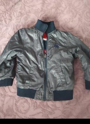 Куртка двостороння benetton3 фото