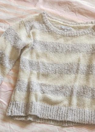 Белый свитер/білий светр