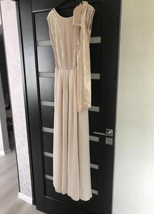Платье в пол, сукня