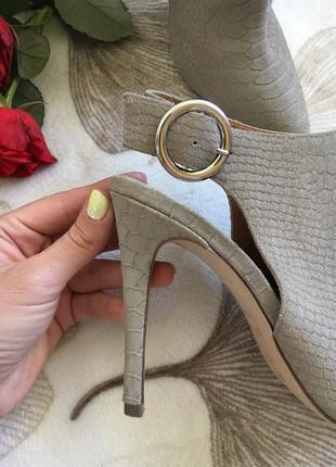 Шикарные натуральные фирменные туфли распродажа вещи до 100грн3 фото