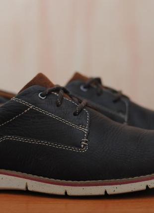 0edbf5a37 Кожаные мужские туфли clarks со спортивной подошвой, 44,5 размер. оригинал
