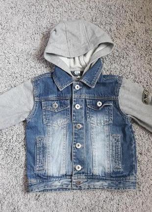 Піджак джинсовий 104см 4рочки