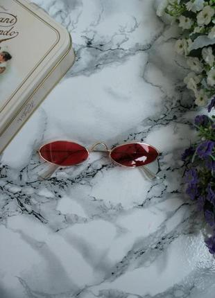 Новые красные очки