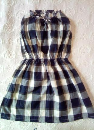 Батистовое платье makia (швеция)