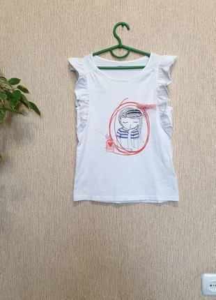 Качественная, стильная футболка от vertbaudet