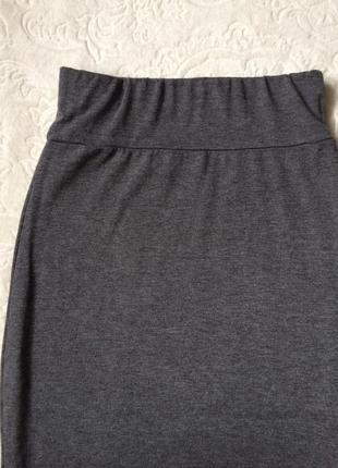 Трикотажная юбка boohoo s2 фото