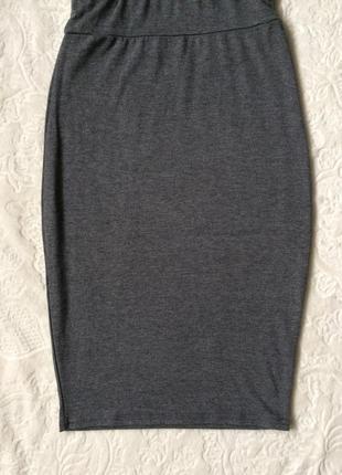 Трикотажная юбка boohoo s5 фото