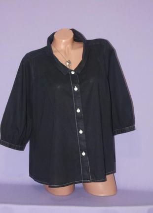 Котоновая рубашка  от  betty jackson