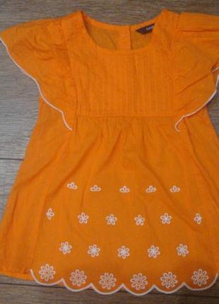 Красивая нежная блузочка george 4-5 лет