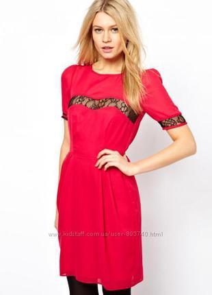 Платье asos алого цветаскидка до 25.05 спешите купить
