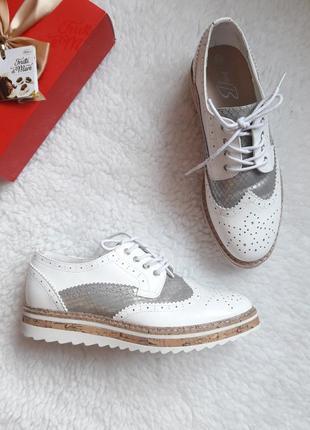 Шикарные туфли оксфорды