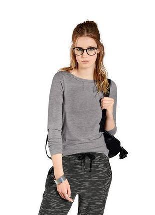 Мягкий тонкий пуловер кофта р. xl 48 50 esmara германия