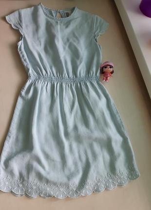 Фирменный немецкий сарафан-платье h&m р-р 128.